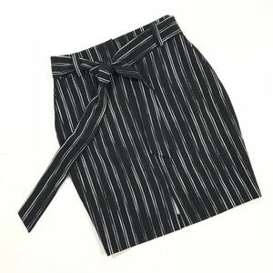 APT 9 Striped Pencil Skirt